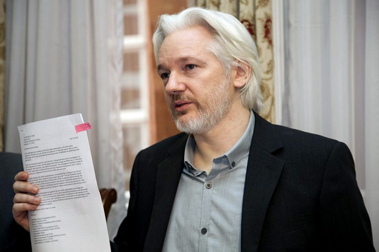 Fri lejd och frihet för Julian Assange! Försvara yttrandefriheten! Från manifestation i Stockholm 16 december