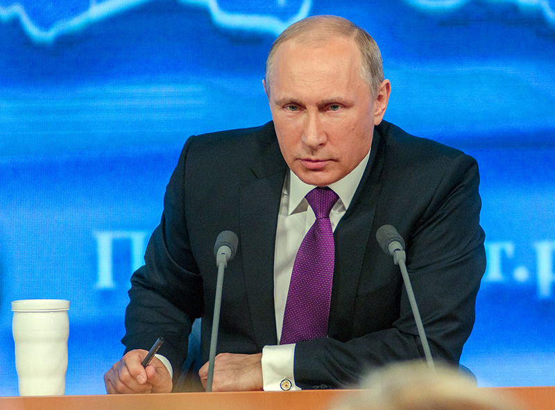 Vladimir Putin - Foto: Дмитрий Осипенко. Licens: CC0, Pixabay.com
