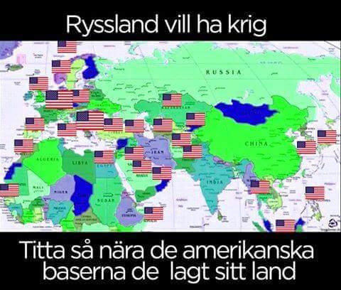 Sveriges säkerhet – intim anpassning till USA och EU!