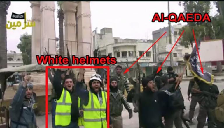 Medier i Väst attackerar kritiken mot de kontroversiella Vita hjälmarna