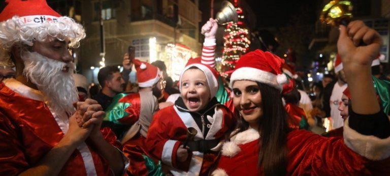 Hoppfullt när Damaskus firade jul i fred – bl.a. tack vare Soleimani.