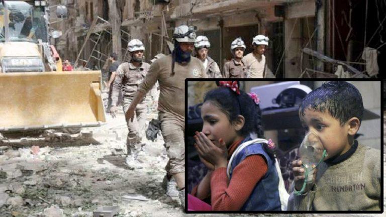 """""""Gasattacken i Douma"""" – lögner för ett krig."""