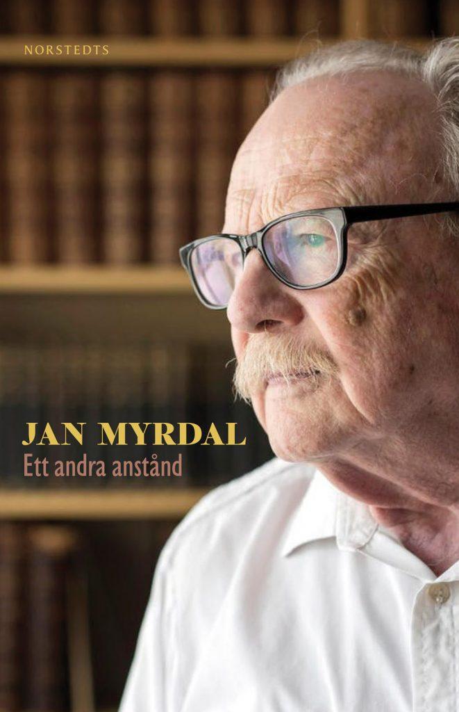 """Bokomslag: """"Ett andra anstånd"""" av Jan Myrdal. Bild: Norstedts förlag"""