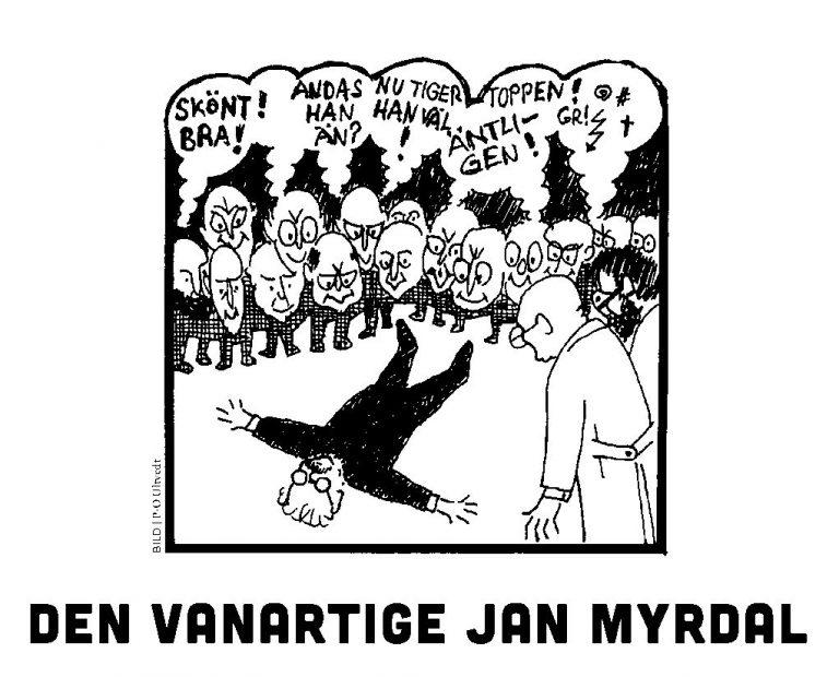 Söndagsmorgnar med Jan Myrdal. Hans O Sjöström, journalist och författare  vid Jan Myrdalseminariet 14 april.