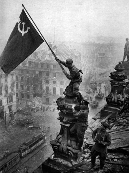 Segerparaden Andra Världskriget