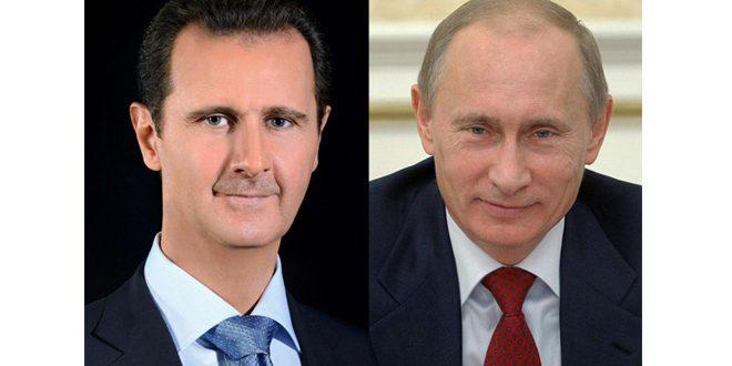 Presidenterna Assad och Putin talas vid i – enighet eller…?