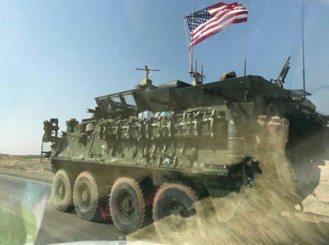 USA förstärker sin närvaro i Syrien och stjäl oljan.