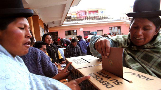 OAS ljög om valfusk i Bolivia. Surprise?