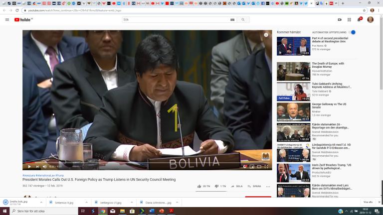 Bolivia: Ny framgångsrik USA-stödd statskupp.