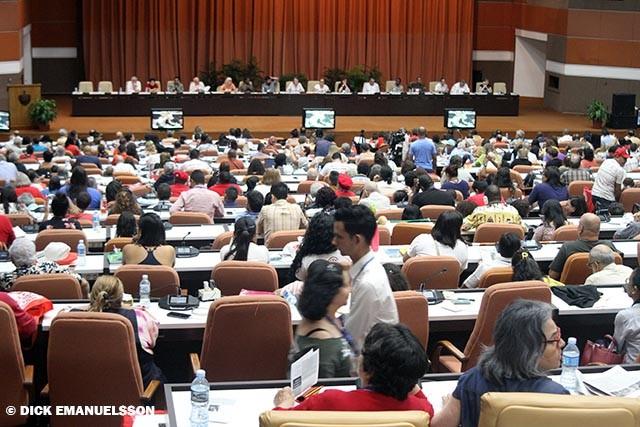 Stort möte för fred i Havanna
