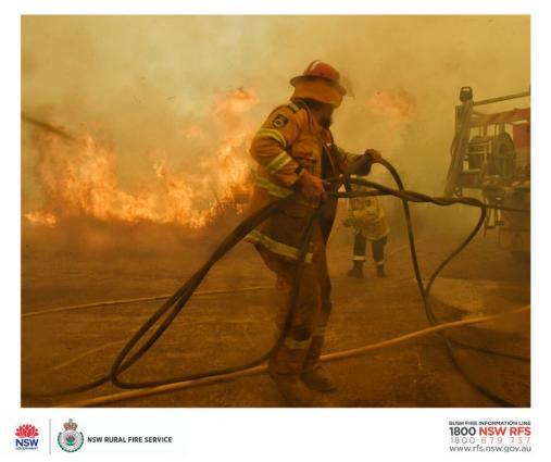 Klimatförändringar en orsak till bränderna i Australien enligt Världsmeteorologiorganisationen WMO
