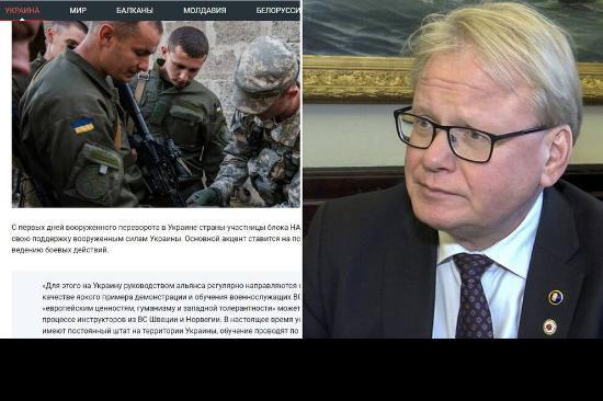 SVT:s bristande allsidighet angående svenska insatser i Ukraina