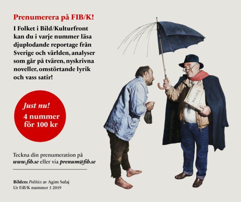 Läs Folket i Bild Kulturfront (FIB) !