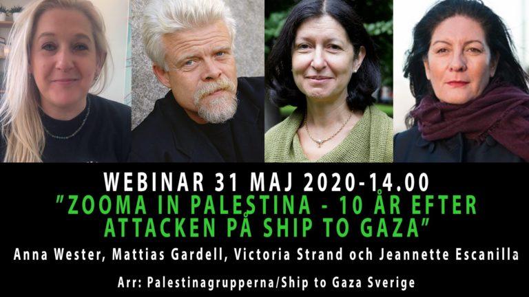 Tio år sedan morden på 9 Palestina-solidaritets-aktivister på turkiska båten Mavi Marmara