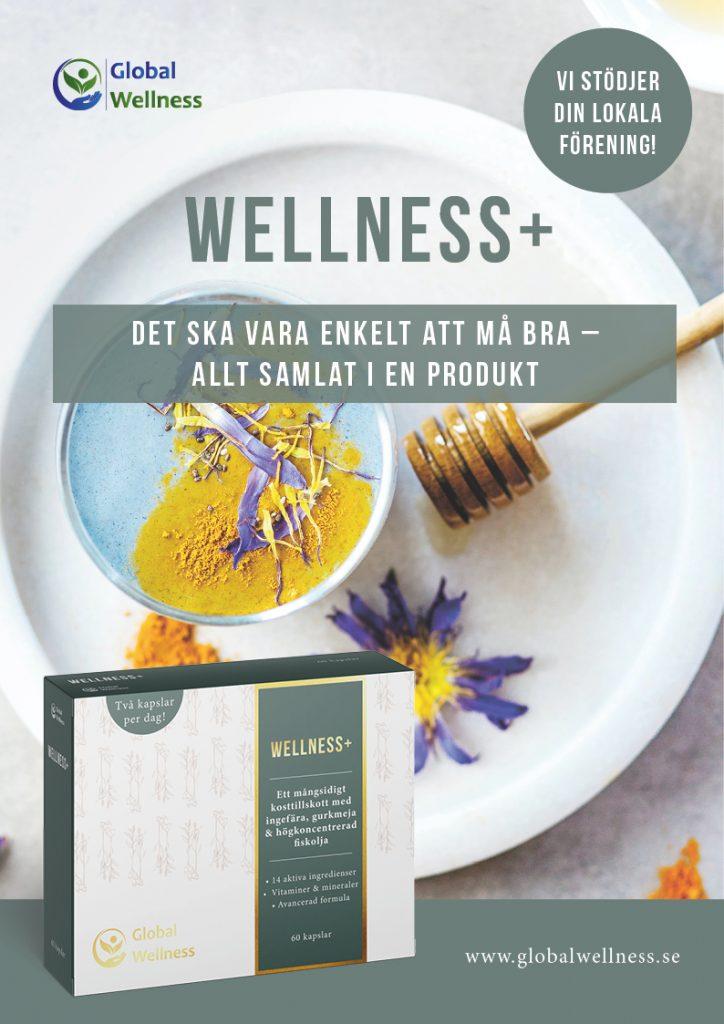 säljmaterial global wellness wellness+ kosttillskott