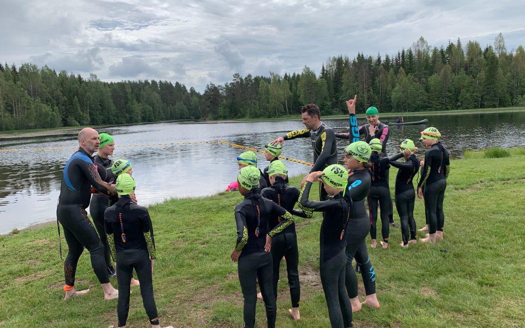 Utesvømming – nye arenaer tatt i bruk