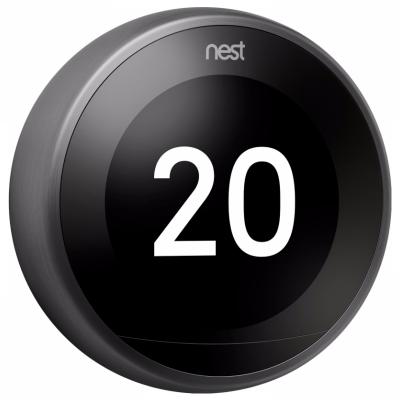 Nest Thermostat Premium Zwart