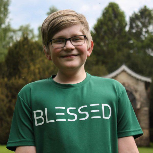 Go Tell Ltd   Blessed   Kids Cool T-Shirt   Bottle