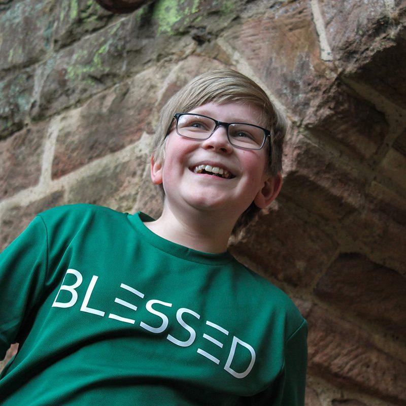 Go Tell Ltd | Blessed | Kids Cool T-Shirt | Bottle