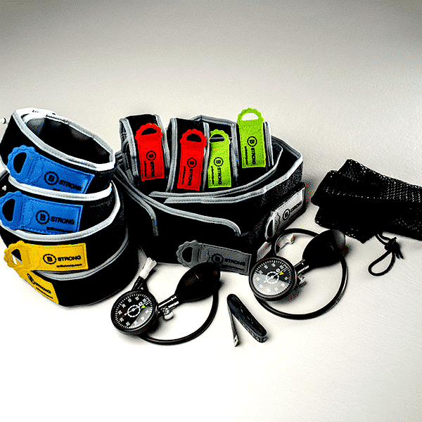 Training bands B STRONG Professional pack pump BFR