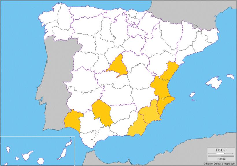 Mapa GOCITRUS