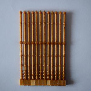 Barras de palio doradas
