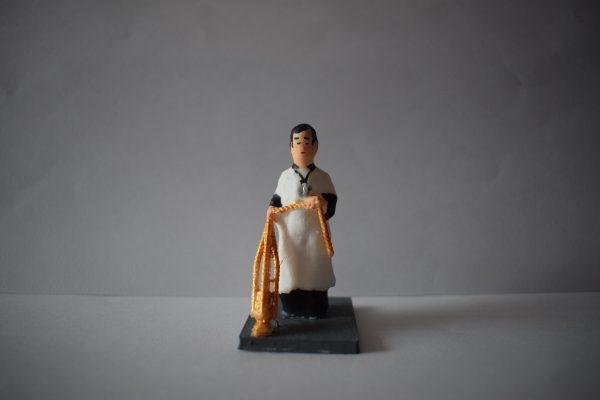 Figura Monaguillo Incensario Dorado