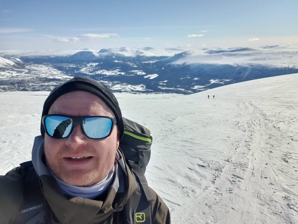 Toppturer på ski