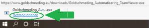 Goldschmeding-automatisering - Download voorbeeld - Edge