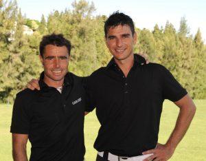 Juan Carlos Agüero and Jaime Bárcena