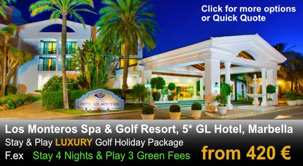 Los Monteros Luxury Golf Package