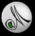 GolfatM Logo @M