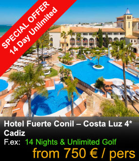 Hotel Fuerte Conil SPECIAL OFFER
