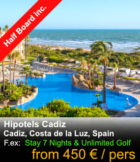 Hipotels Cadiz Golf Packages