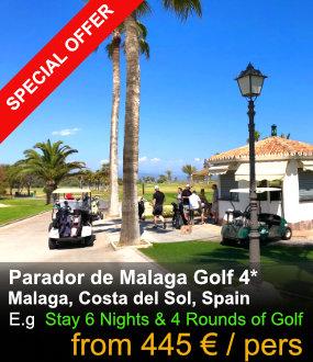 Parador de Malaga Links Golf