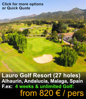 Lauro Golf Long stay golf