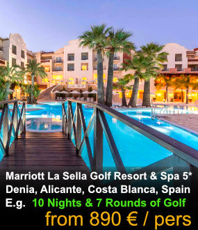 Marriott Denia la Sella Hotel Golf Stay & Play Holidays