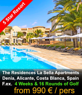 La Sella Apartments stay & Play Golf