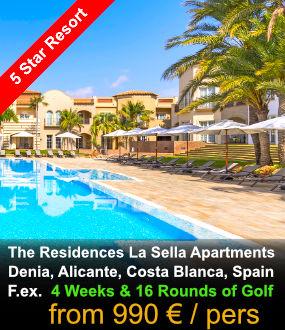 La Sella Apartments stay & Play Golf