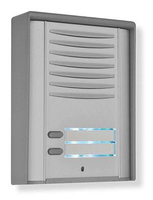 De parlofoon is voorzien van een SIM kaart. Een druk op de belknop brengt een telefoongesprek tot stand. Door een toetsencombinatie kan de poort geopend worden.