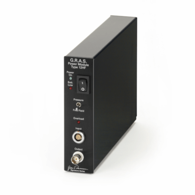 GRAS 12HF 1-Channel Power Module for Low-noise Systems
