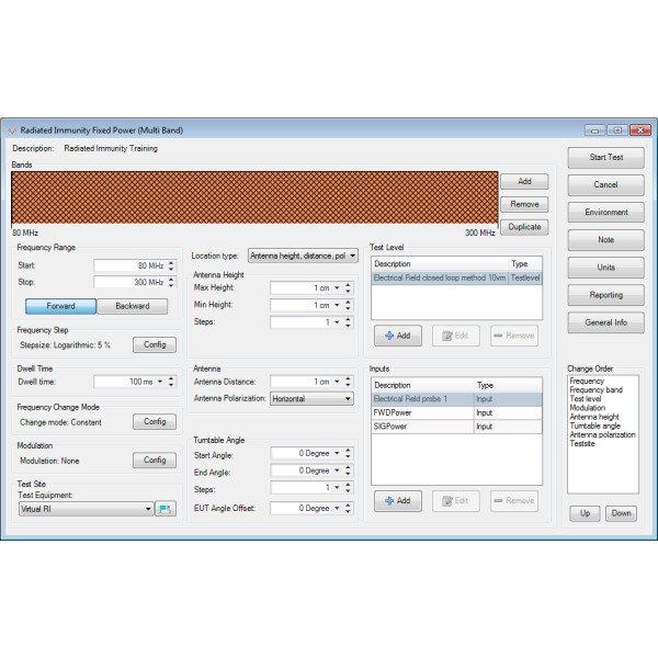 DARE!! RadiMation EMC Test Software