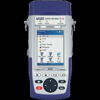 VeEX BX100A+ Handheld ADSL2+ Test Set