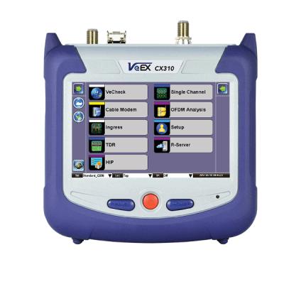 VeEX CX310 DOCSIS 3.1 Installation Test Set
