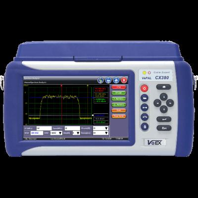 VeEX CX380s-D3.1 Advanced CATV System Analyzer