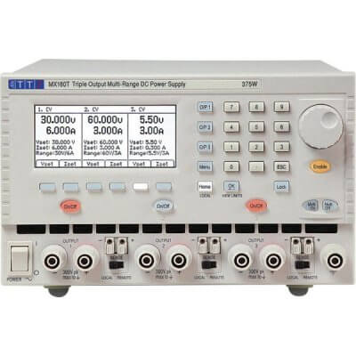 Aim-TTi MX180T Power Supply Triple multi range 375W