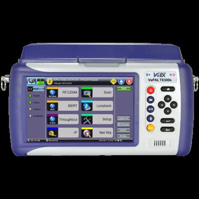 VeEX TX320s OTN, SDH/SONET, Ethernet and Fibre Channel Test Set