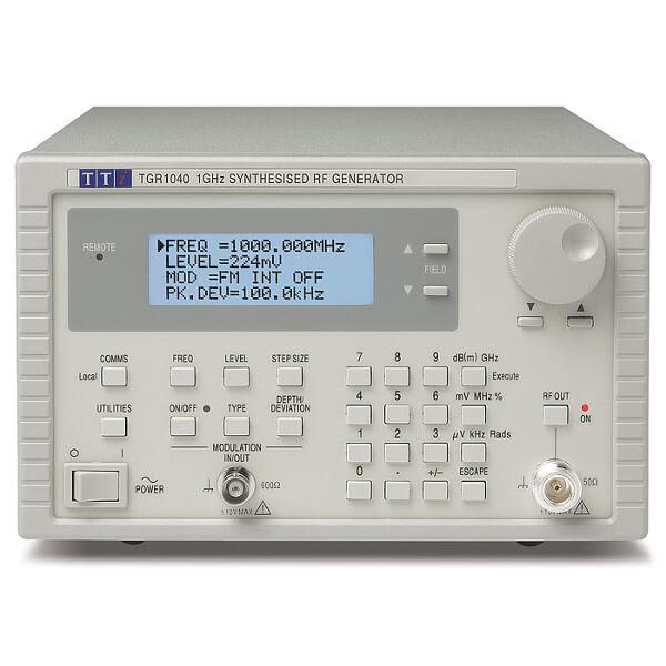 Aim-TTi TGR1040 1GHz Synthesised Signal Generator