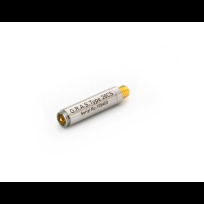 GRAS 26CS 1/4″ CCP Standard Preamplifier with Microdot Connector, Very Short