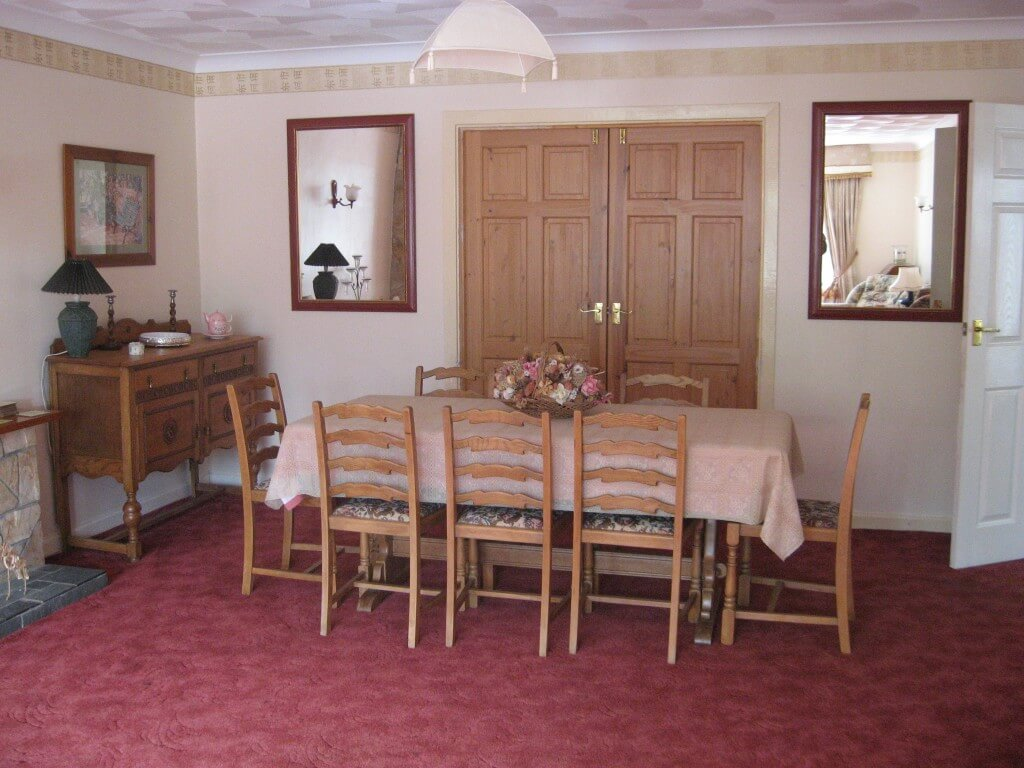 Gower self catering - Lounge/dining room